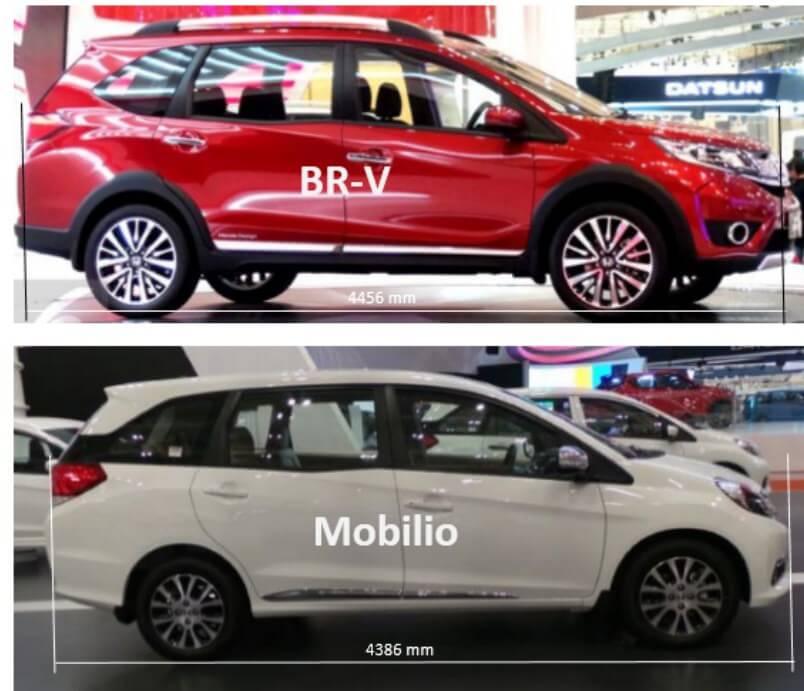 Perbandingan Harga Serta Spesifikasi Honda Mobilio Dan Honda Brv