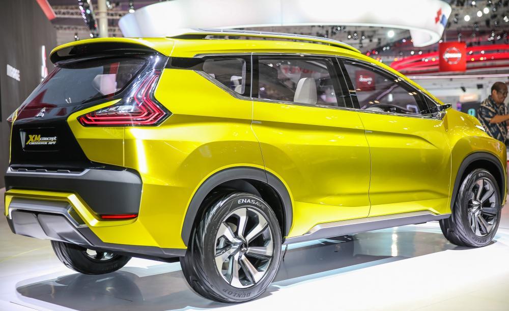 Mitsubishi Xpander saat masih dalam bentuk konsep