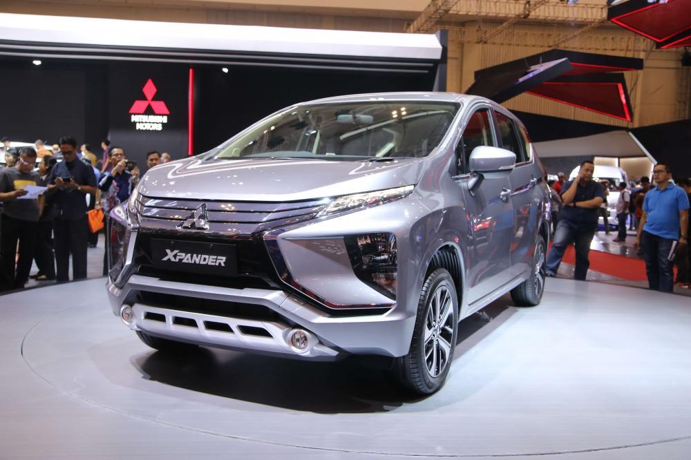 Mitsubishi Xpander saat diluncurkan resmi di GIIAS 2017
