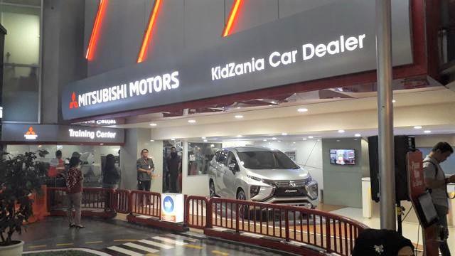 Mitsubishi Xpander di KidZania