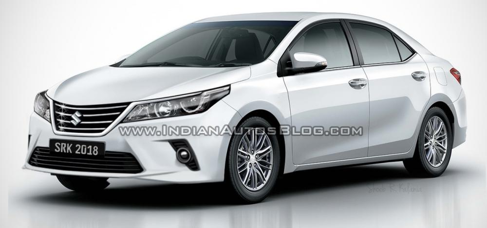 Rendering Suzuki Corolla Altis