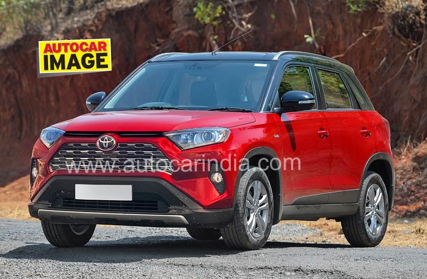 Rendering Toyota Vitara Brezza