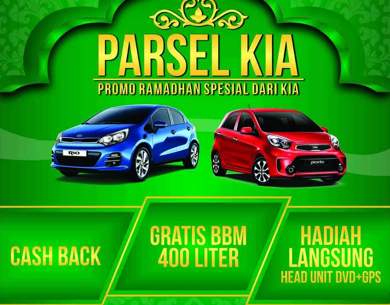 Gambar ini merupakan selebaran promo ramadhan saat membeli mobil