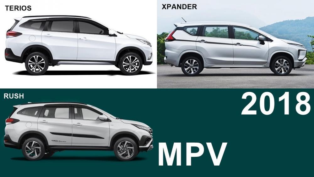 tiga model, Xpander, Rush, Terios laris manis diluar dugaan