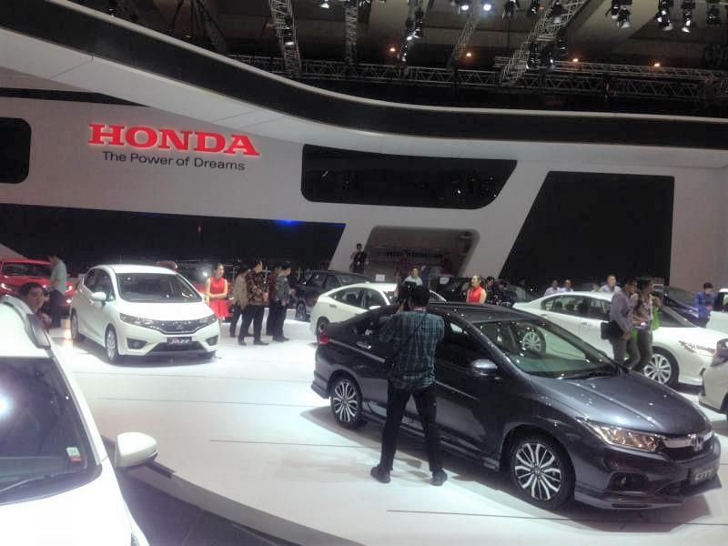 Booth Honda IIMS 2018 pajang 29 model mobil Honda