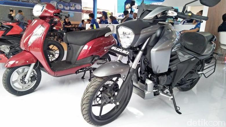 Doa model sepeda motor Suzuki, Intruder 150 dan Access 125