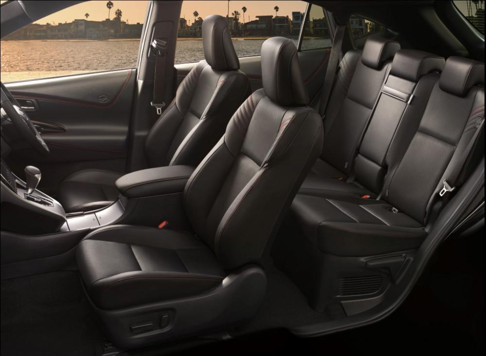 Gambar ruang kabin mobil Toyota Harrier 2018