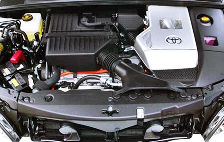 Gambar bagian mesin mobil Toyota Harrier 2018