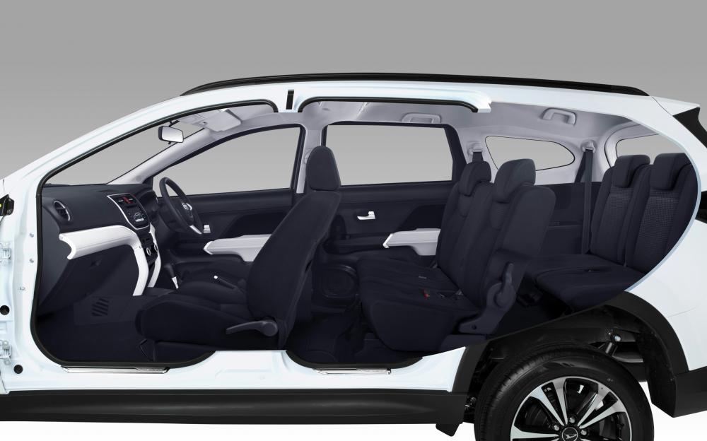 Gambar ruang kabin mobil Daihatsu Terios X Deluxe A/T 2018