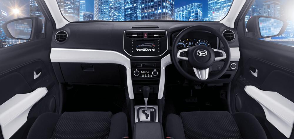 gambar bagian dashboard mobil Daihatsu Terios X Deluxe A/T 2018