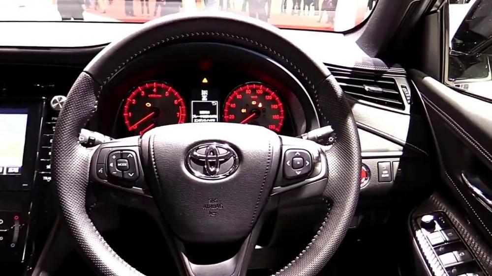 Gambar bagian setir mobil Toyota Harrier 2018