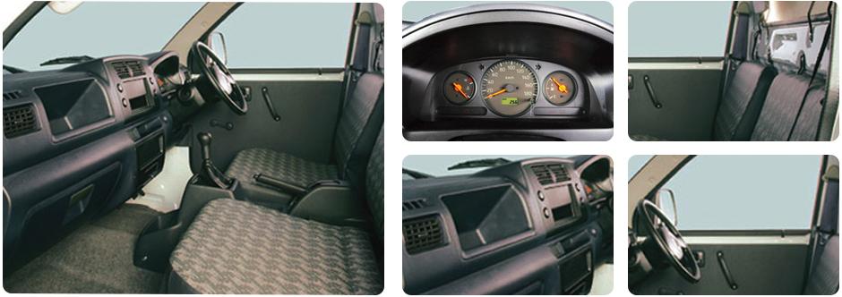Gambar bagian interior mobil Suzuki Mega Carry 2018