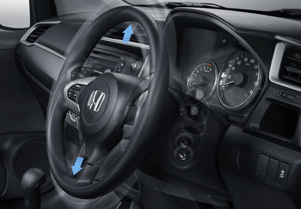 Gambar bagian setir mobil Honda BR-V E Prestige Facelift 2018