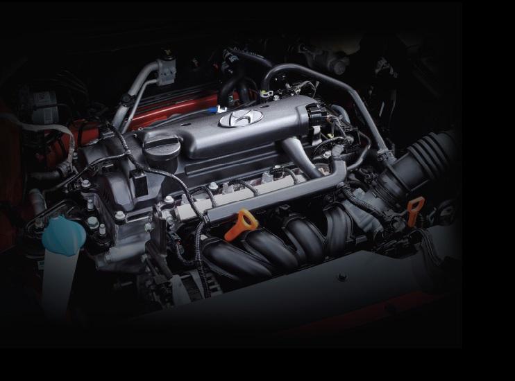 Mesin 1368 cc pada mobil Hyundai i20