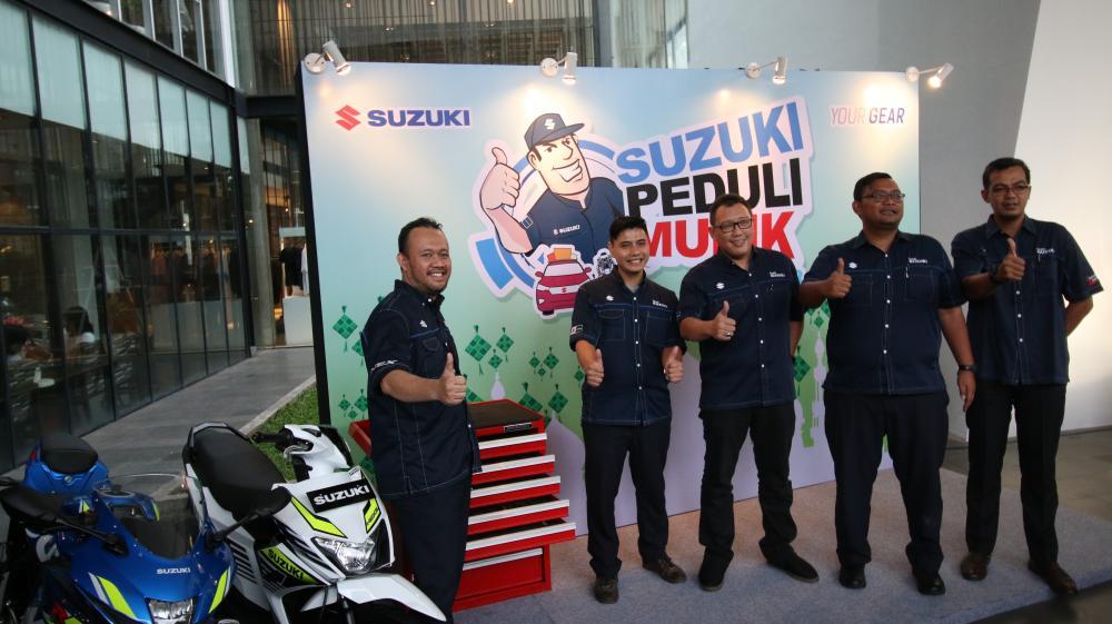 Program Terbaru Suzuki untuk Mudik 2018