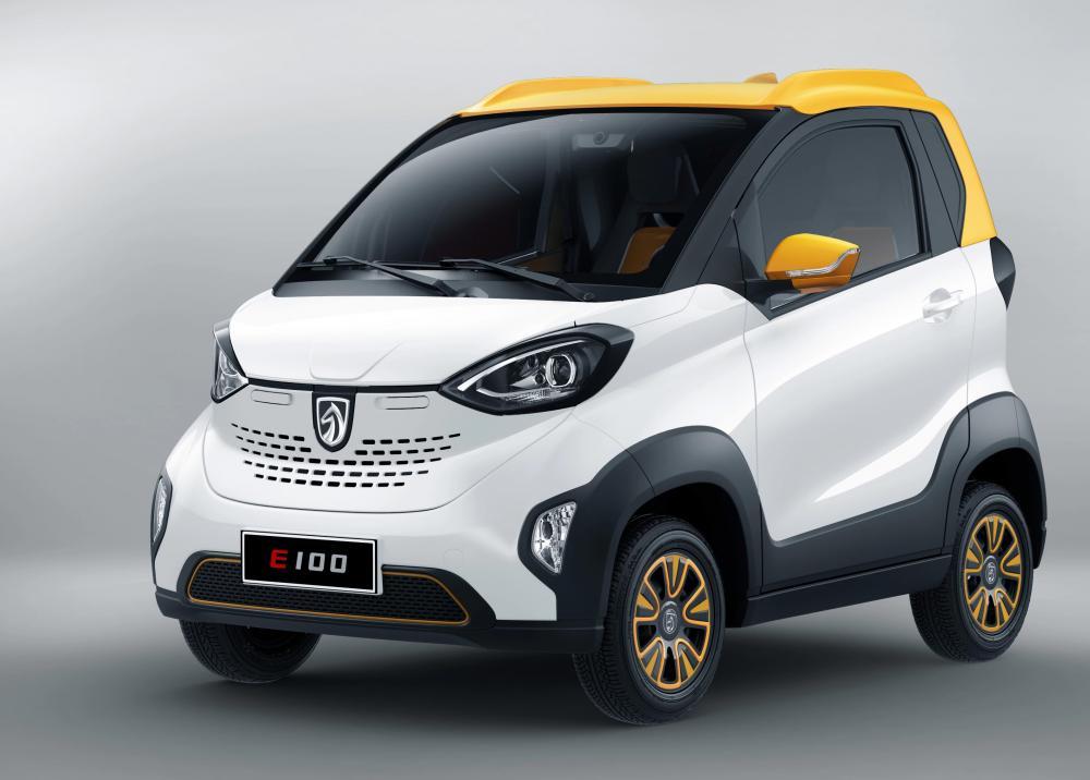 Gambar Mobil listrik Baojun E100 nyentrik