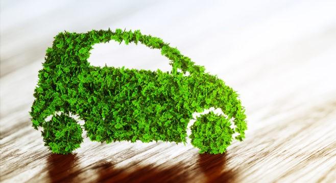 gambar ilustrasi green car