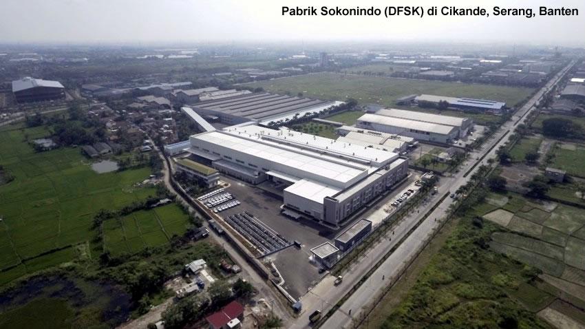 Pabrik sokonindo difoto dari udara