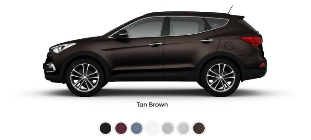 Pilihan Warna Hyundai Santa Fe 2018