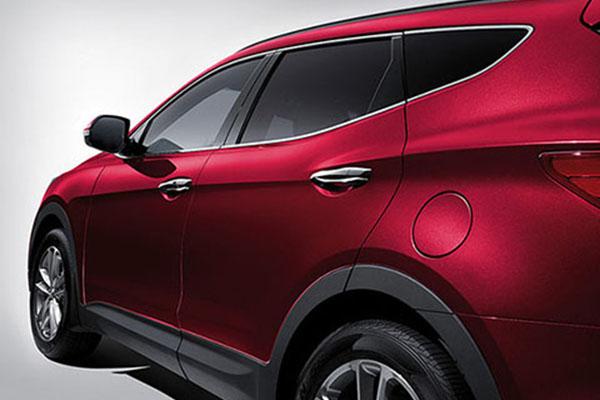 Chrome Coated Surround Molding Hyundai Santa Fe 2018
