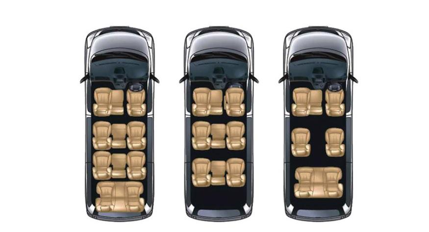 Tiga Varian Kapasitas Penumpang Hyundai H-1