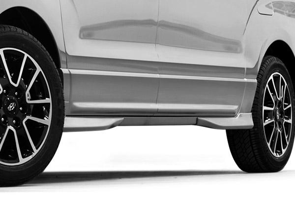 Pelek 18 Inci Dual pada mobil Hyundai H-1