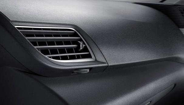 Gambar ini menunjukkan kisi-kisi AC Mobil yang berada pada dashboard Mobil