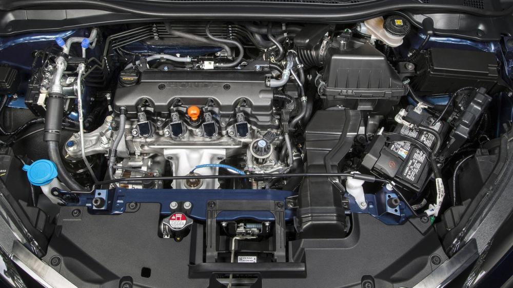 Gambar bagian mesin mobil Honda HR-V Facelift 2018