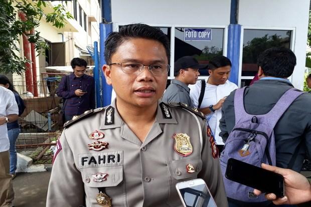 Kompol Fahri Siregar menjelaskan perihal tes psikologi SIM kepada wartawan