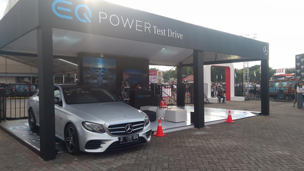 Test drive Mercedes-Benz EQ Power