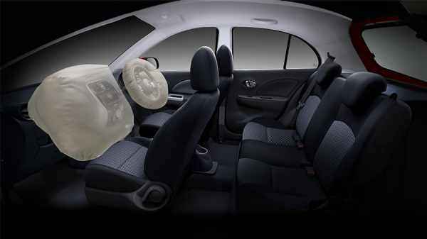 Dual SRS Airbag Nissan March