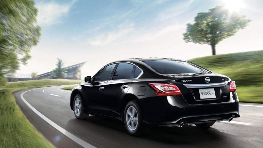 Nissan Teana Punya Body Yang Aerodinamis