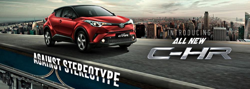 Toyota C-HR Pendatang Baru Pesaing Juke