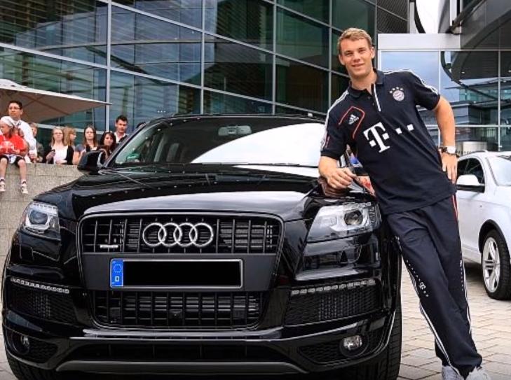 Audi Q7 2014 milik Manuel Neuer