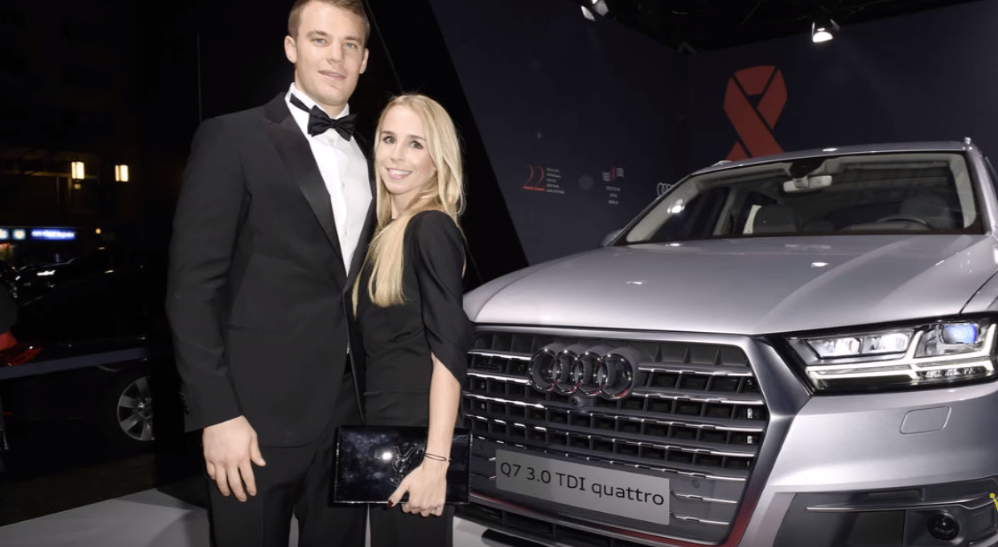 Audi Q7 milik Manuel Neuer
