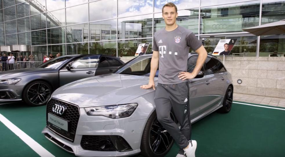 Audi RS6 milik Manuel Neuer