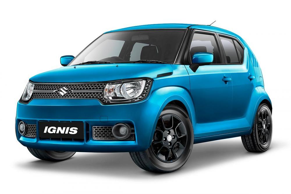 Gambar Suzuki Ignis warna biru