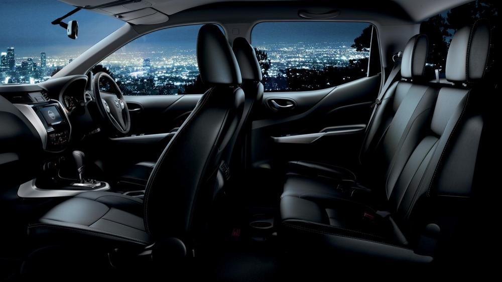Nissan Navara Memilki Kabin Yang Elegan