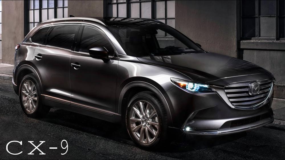 gambar Mazda CX-9 tampak dari samping