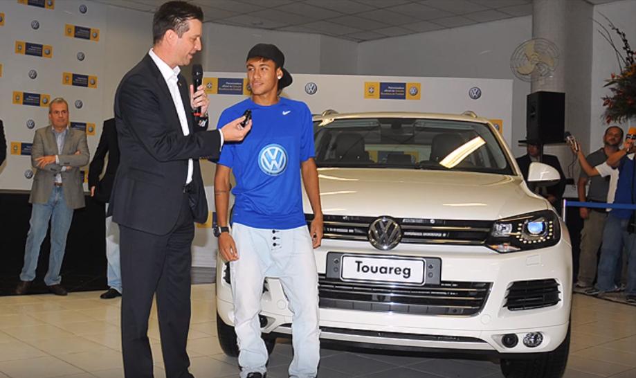 VW Touareg milik Neymar