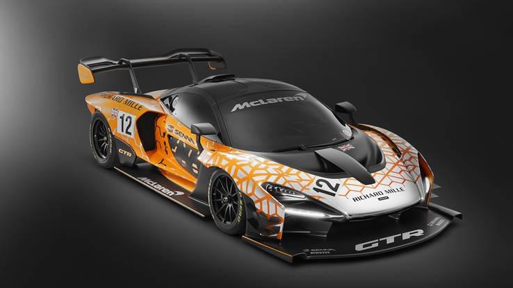 Gambar yang menunjukan mobil baru McLaren P1 GTR terbaru
