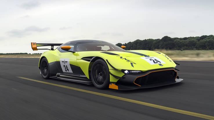 Gambar yang menunjukan mobil supercar terbaru Aston Martin Vulcan