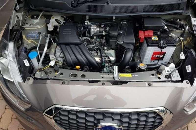 Tampilan Mesin Datsun Go CVT 2018