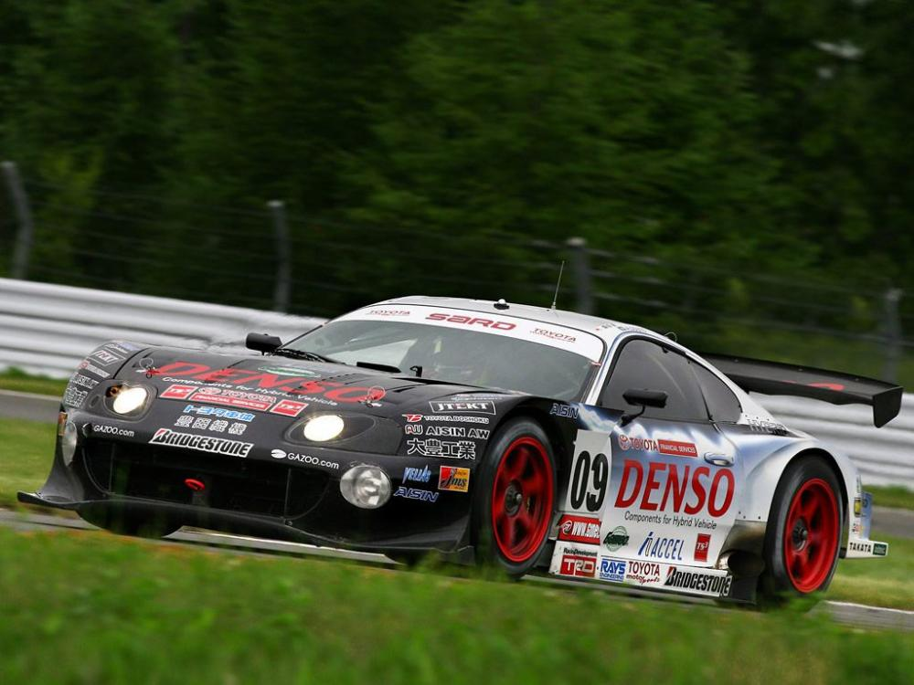 Toyota Supra versi hybrid pemenang balap Tokachi 24 Jam 2007