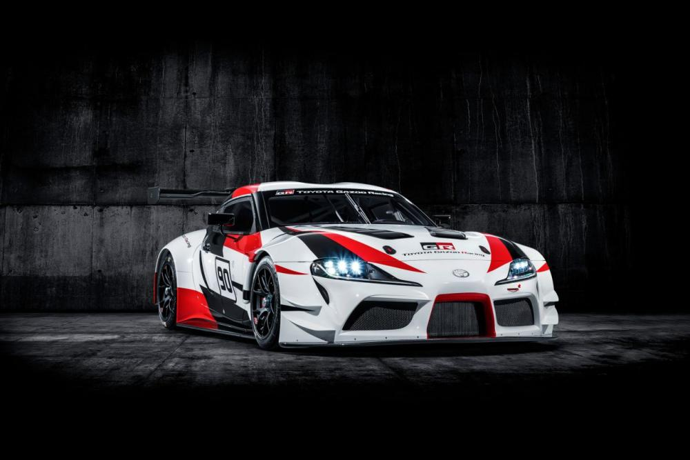 Foto studio Toyota Supra GR Racing Concept 2018