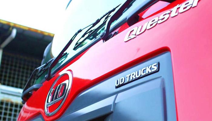 Gambar UD Trucks - bagian depan