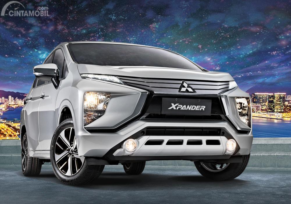 Gambar Mitsubishi Xpander tampak dari depan