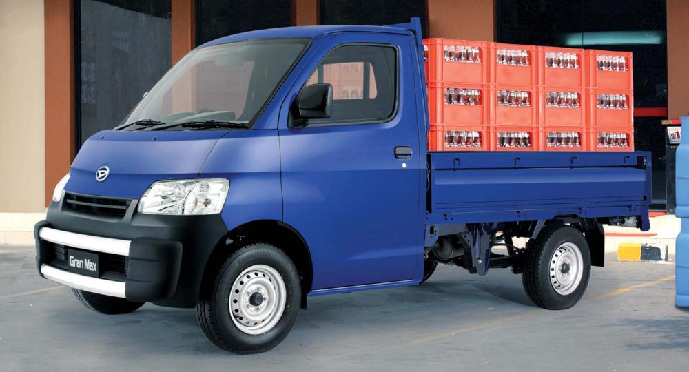 Gambar Daihatsu Gran Max penuh muatan