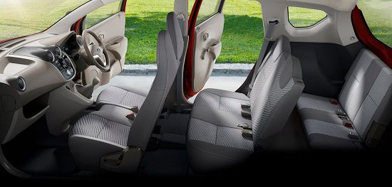 Bagian Dalam Datsun Go+ Panca 2018