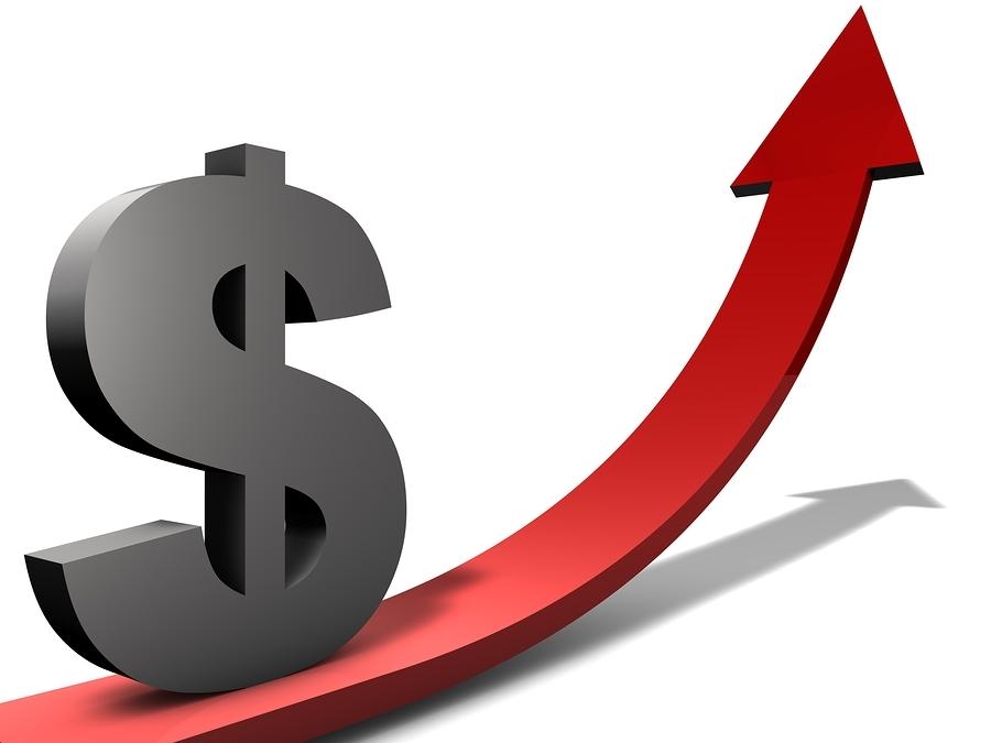 Gambar ilustrasi kenaikan nilai tukar Dollar AS